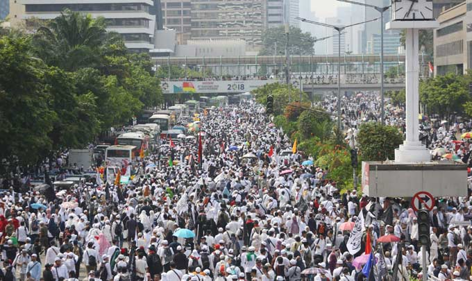 Tolak Framing Umat Islam Radikal