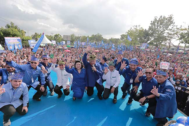 Survei Lamda Indonesia, Firdaus-Rusli Tertinggi