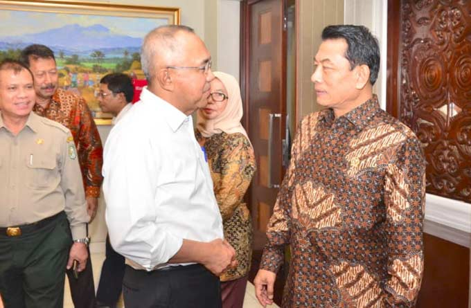 Istana Apresiasi Pola Penanganan Karhutla Riau