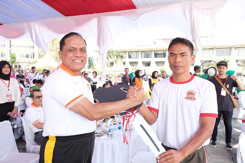 Olahraga Bersama untuk Sinergitas Polri, TNI, dan Masyarakat