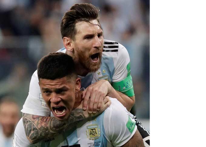 Argentina Selamat, Jerman Pulang Kampung