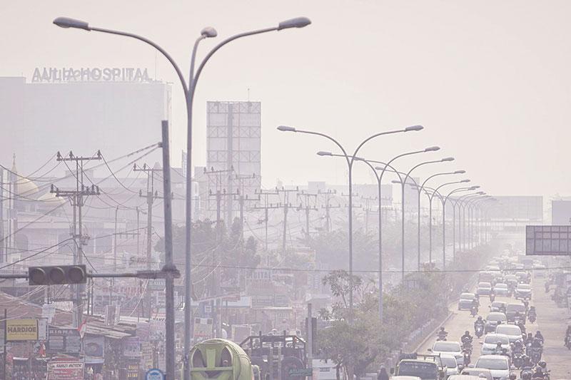 Kualitas Udara Tidak Sehat