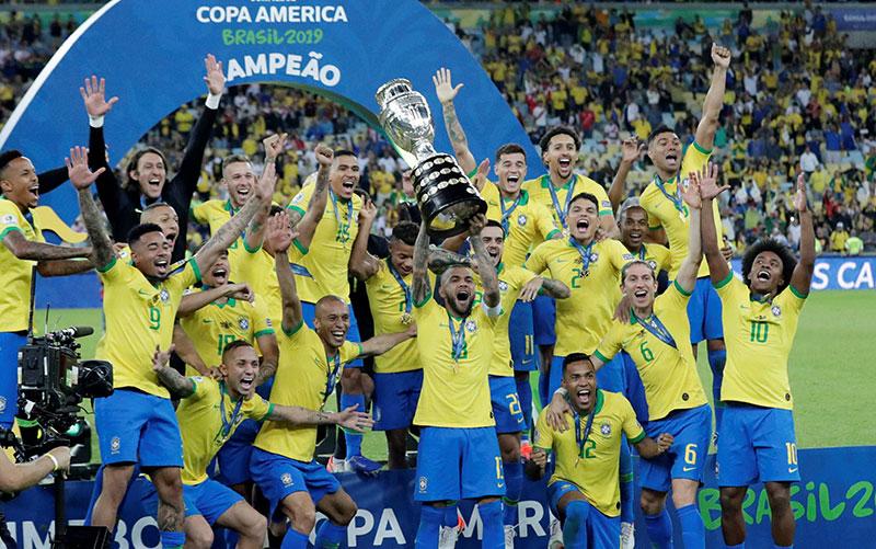 Gelar Ke-9 Brazil