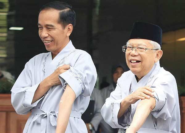 Jokowi Pamerkan Keberhasilan