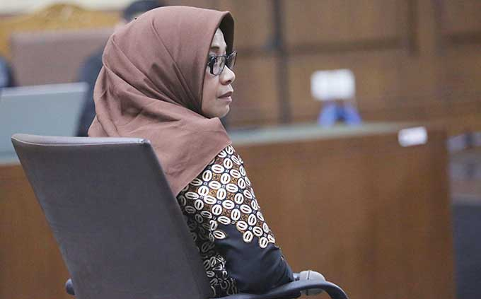 Divonis 6 Tahun Penjara, Eni Saragih Ikhlas