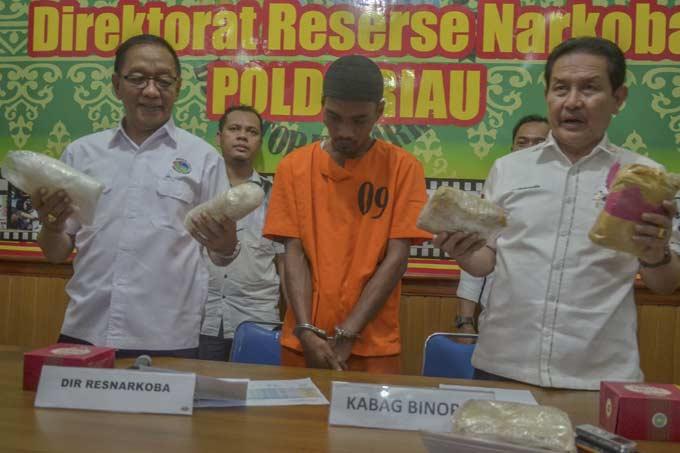 Tiga Bulan, 55 Kg Sabu dan 746 Pelaku Narkoba Tertangkap