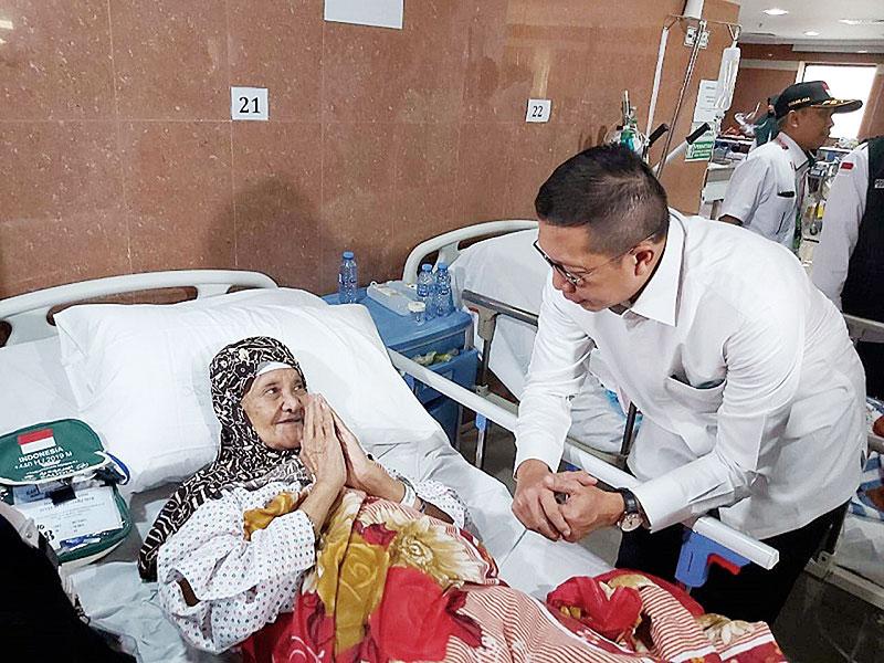 JCH Riau Berangsur Ziarah ke Raudhah