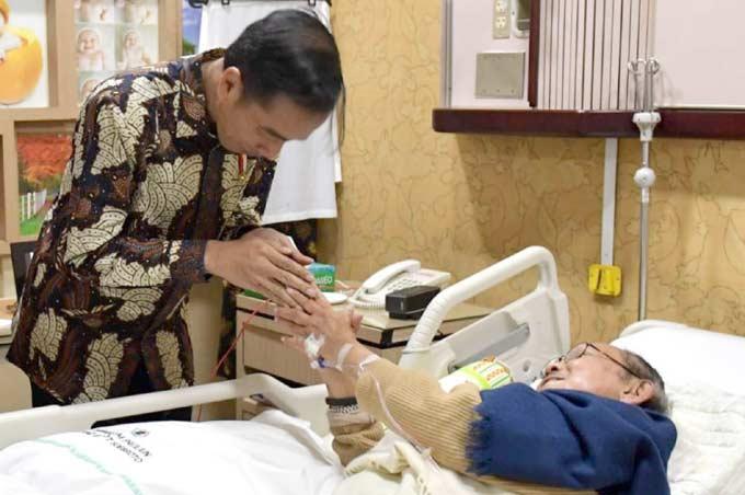 Dijenguk Presiden Jokowi, Ngobrol soal SDM