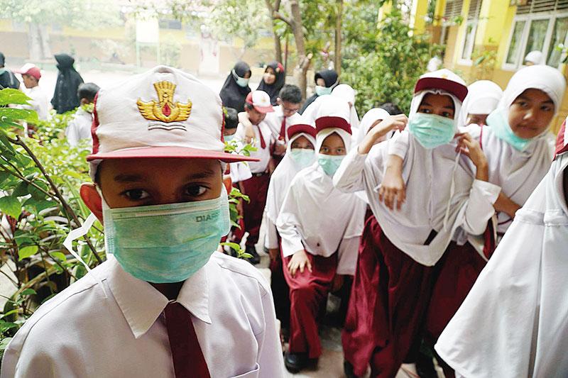 Sebagian Sekolah Liburkan Siswa