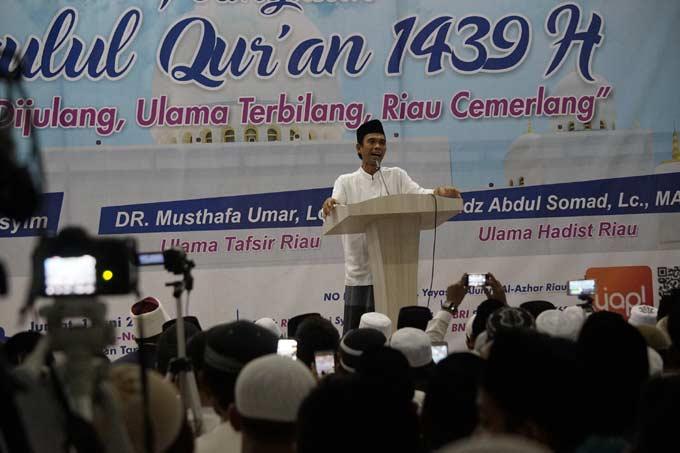 Berharap Keberkahan Malam Nuzulul Quran
