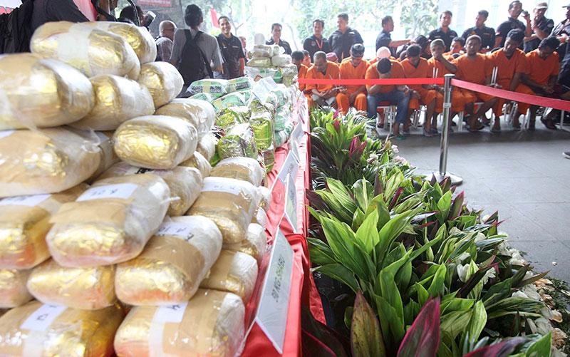 Petakan Asal Narkoba di Indonesia