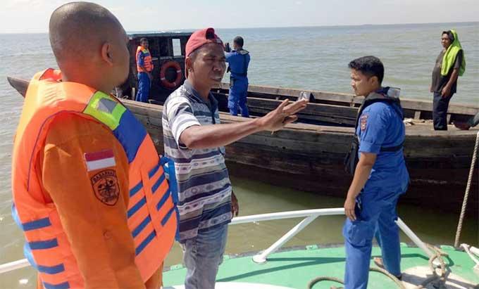 Dihantam Gelombang, Satu ABK Hilang di Perairan Rangsang Barat