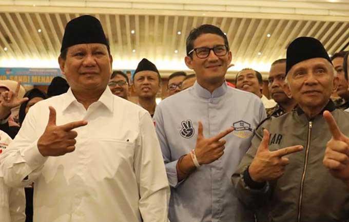 Sandiaga: Prabowo Siap Jadi Menhan