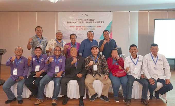 LPj Pengurus Pusat Diterima dalam Kongres XXV SPS
