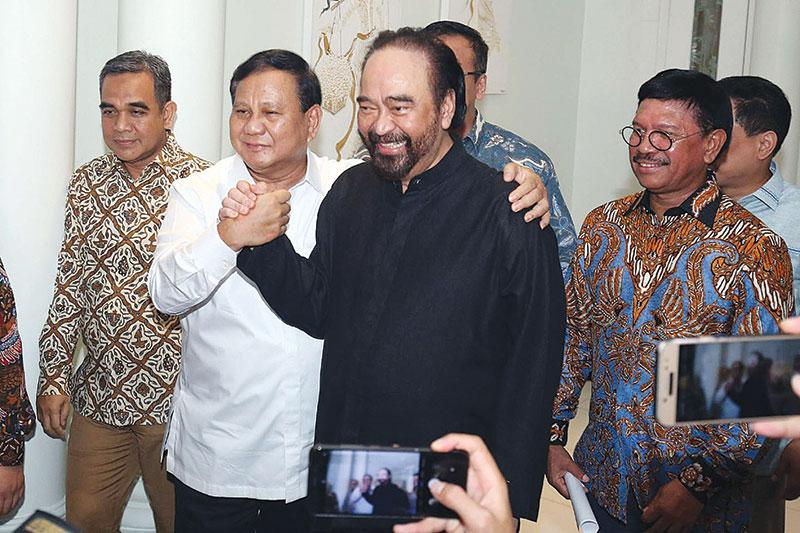 Nasdem Isyaratkan Terima Gerindra di Koalisi Pemerintah