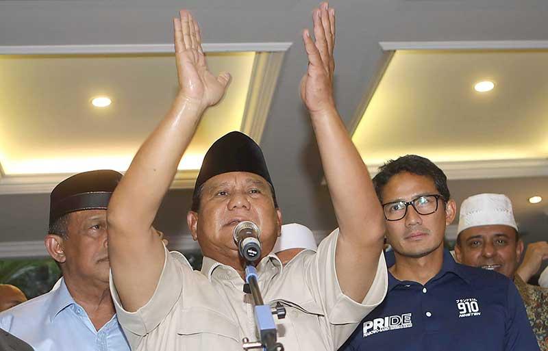 Prabowo Ajak Pendukung Tak Anarkis, Elite Sepakat Selesaikan lewat MK