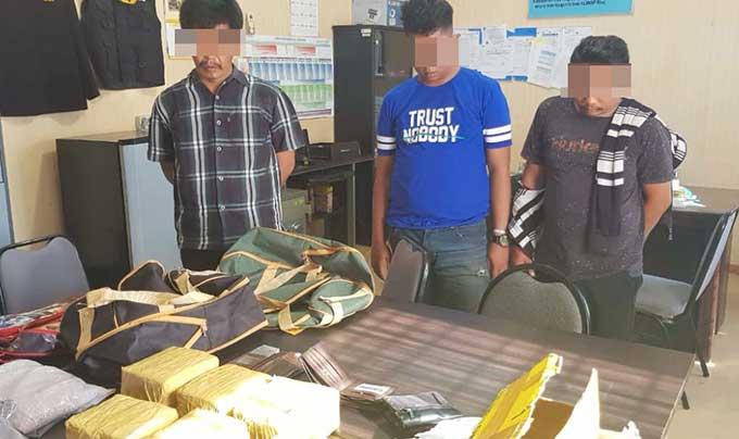 Tiga Hari, 30 Kg Sabu Diungkap di Riau