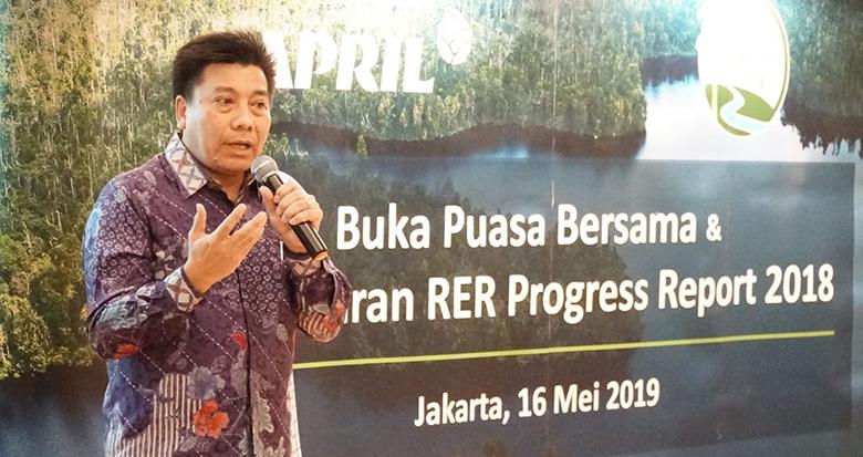 Wilayah Restorasi Ekosistem Riau 4 Tahun  Bebas Kebakaran
