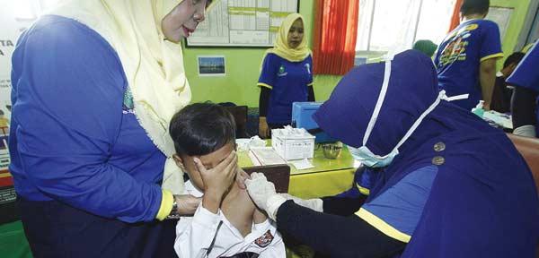 Vaksin MR Wajib Sertifikasi Halal