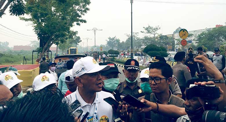 Atlet Menyerah, Etape III TdSi Dibatalkan