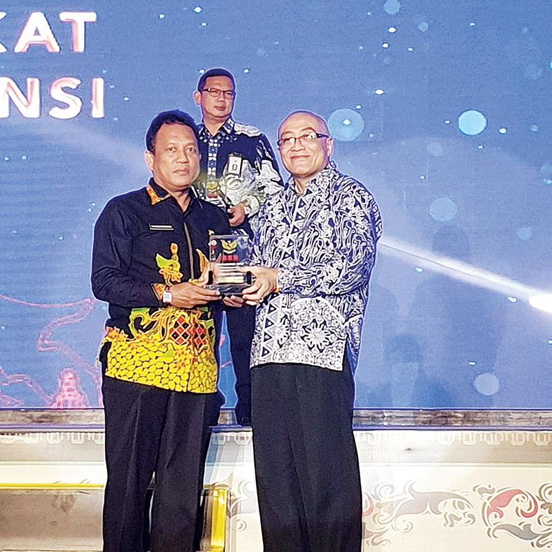 Pemprov Riau Raih BKN Award 2019