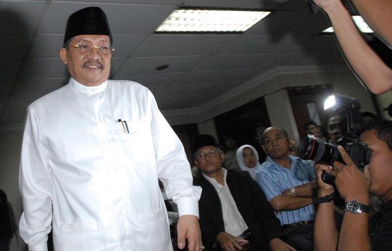 Mantan Bupati Pelalawan Dieksekusi di Pekanbaru