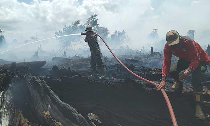 Titik Panas Riau Capai 165 Hotspot