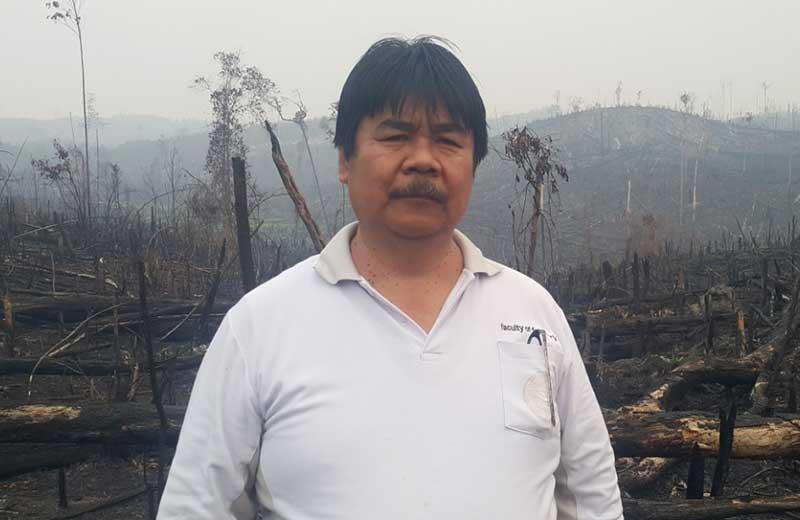 Ratusan Ha Kawasan Hutan Milik Mantan Pejabat Terbakar