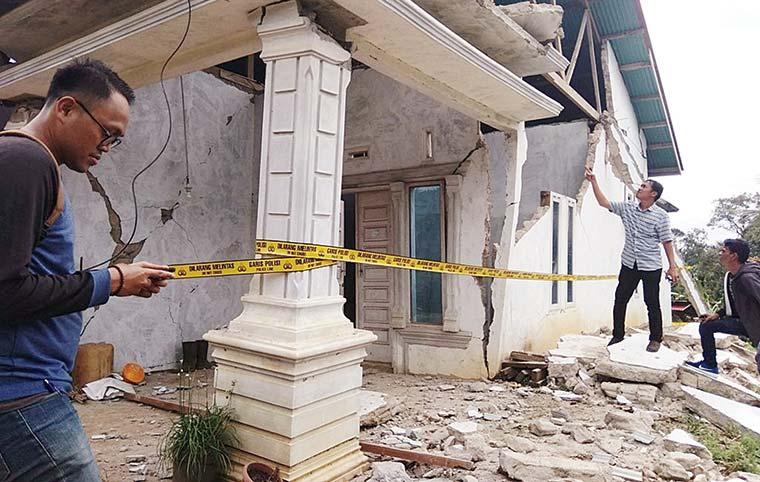 398 Rumah Rusak, 54 Terluka