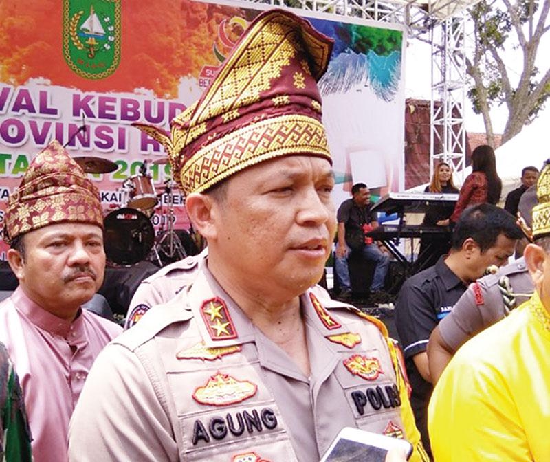 Di Riau Terduga Teroris Ditembak