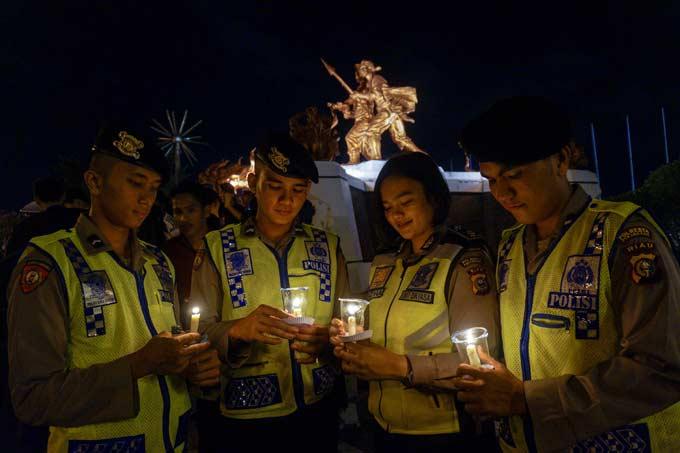 Polda Telusuri Donatur 2 Terduga Teroris di Pekanbaru