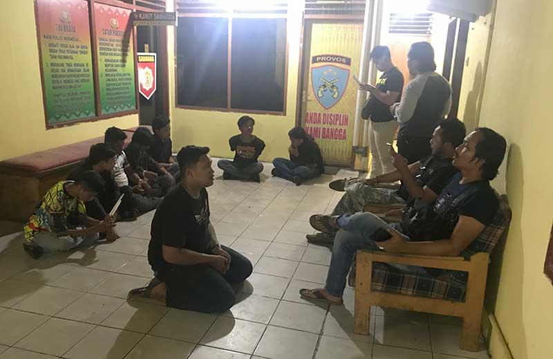 3 Anggota Polda Riau Ditikam OTK