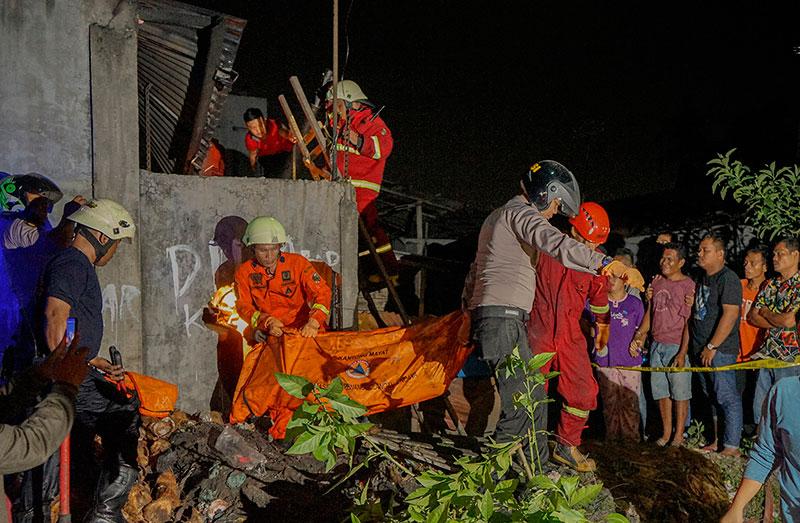 Kebakaran di Delima, Satu Tewas