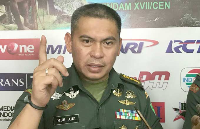 TNI Bantah Gunakan Senjata Kimia