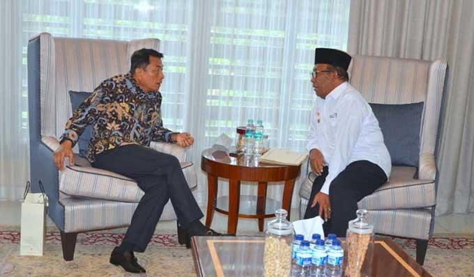 Gubri Sampaikan Progres Pembangunan di Riau