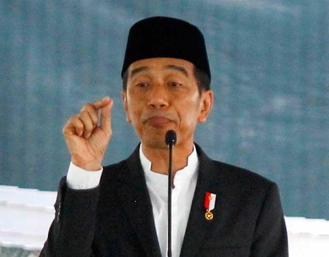 Jokowi Minta Prabowo Lapor KPK Saja