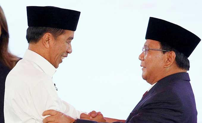 Jokowi Deklarasi, Prabowo ke MK