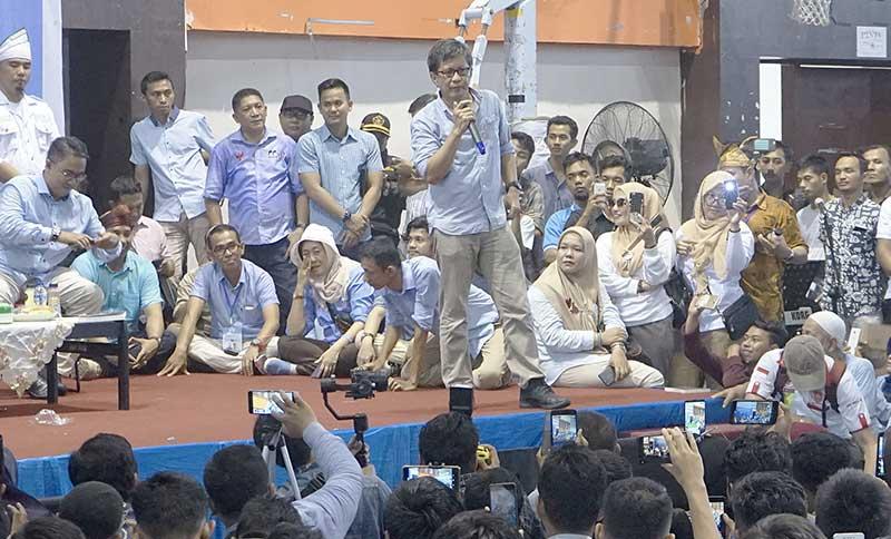 Rocky Gerung Merasa Tuan Rumah di Tanah Melayu