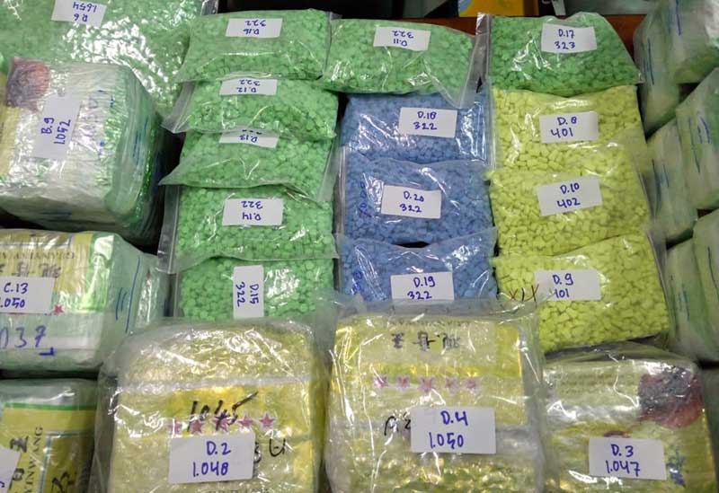 50 Kg Sabu Disimpan di Jeriken