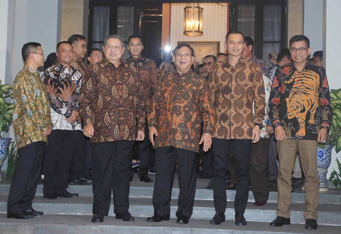 Demokrat Akhirnya ke Koalisi Prabowo
