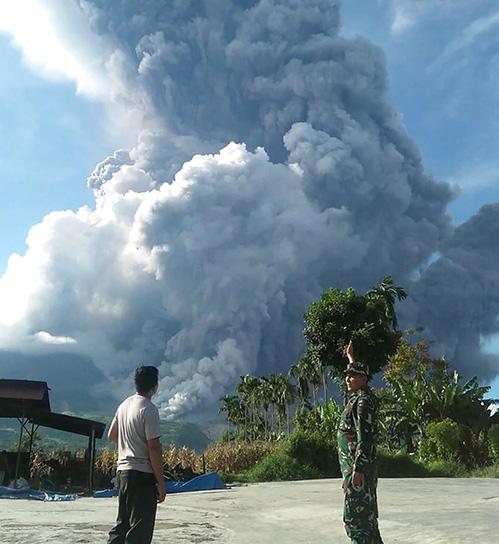 Sinabung Erupsi, Cilacap Gempa Bumi