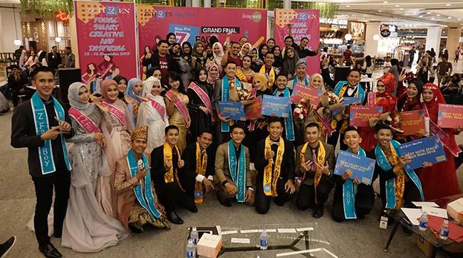 Malam Puncak Z Face Girl Riau 2018, Juara Baru Telah Terpilih