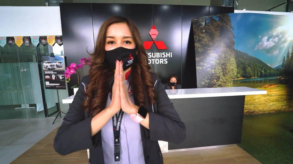 Mitsubishi Dorong Pembersihan Kendaraan Melalui Program Disinfectant Campaign
