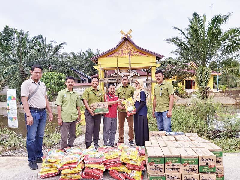 APRIL dan APR Gulirkan Bantuan Banjir