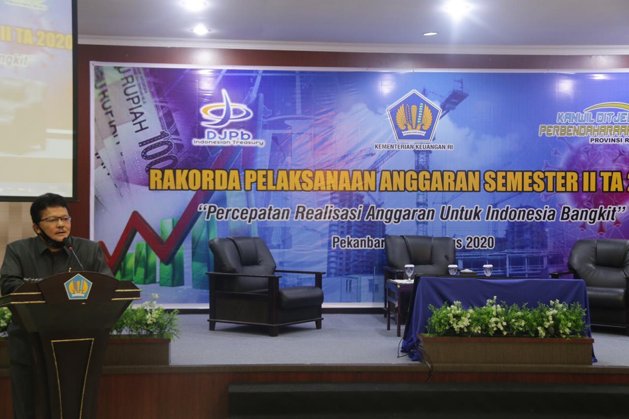 Komitmen Kanwil DJPb Riau Kawal APBN Kedepankan Integritas