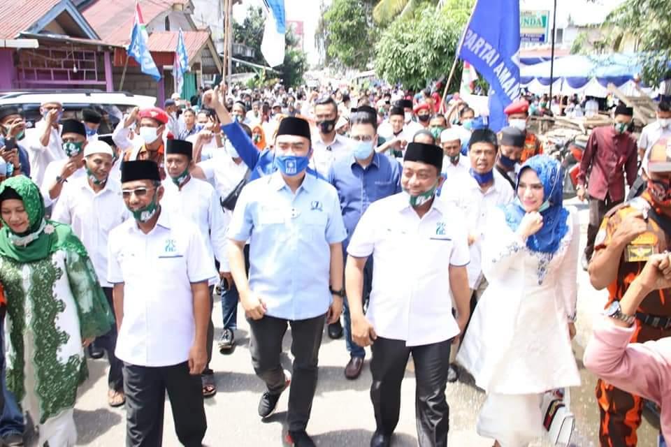 Daftarkan Hafith-Erizal, DPP Ambil Alih Kewenangan DPD PAN Rohul
