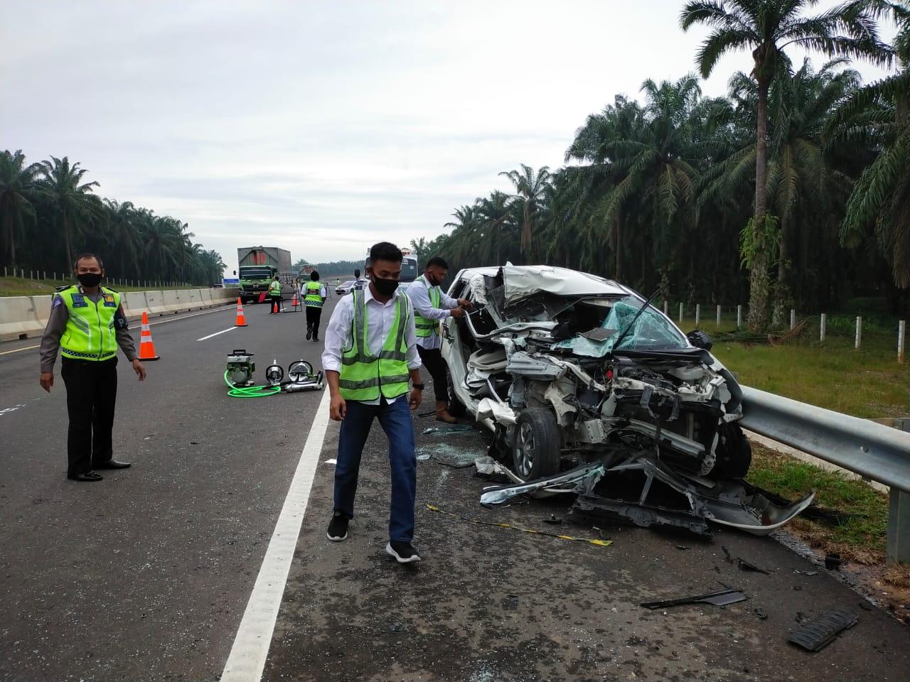 Hampir Sebulan Beroperasi, Sudah 9 Kali Kecelakaan di Tol Permai