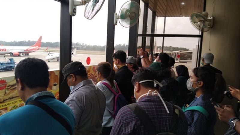"""Wartawan Peliput WNI yang Tiba dari Wuhan """"Dikarantina"""""""