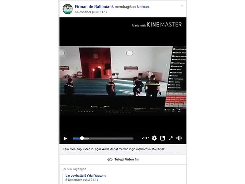 Polisi Norwegia Menyerang Imam Masjid
