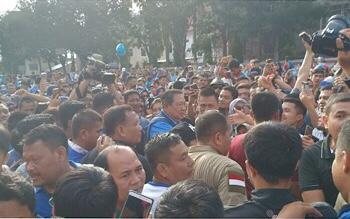 SBY dan AHY Sapa Warga Pekanbaru di CFD